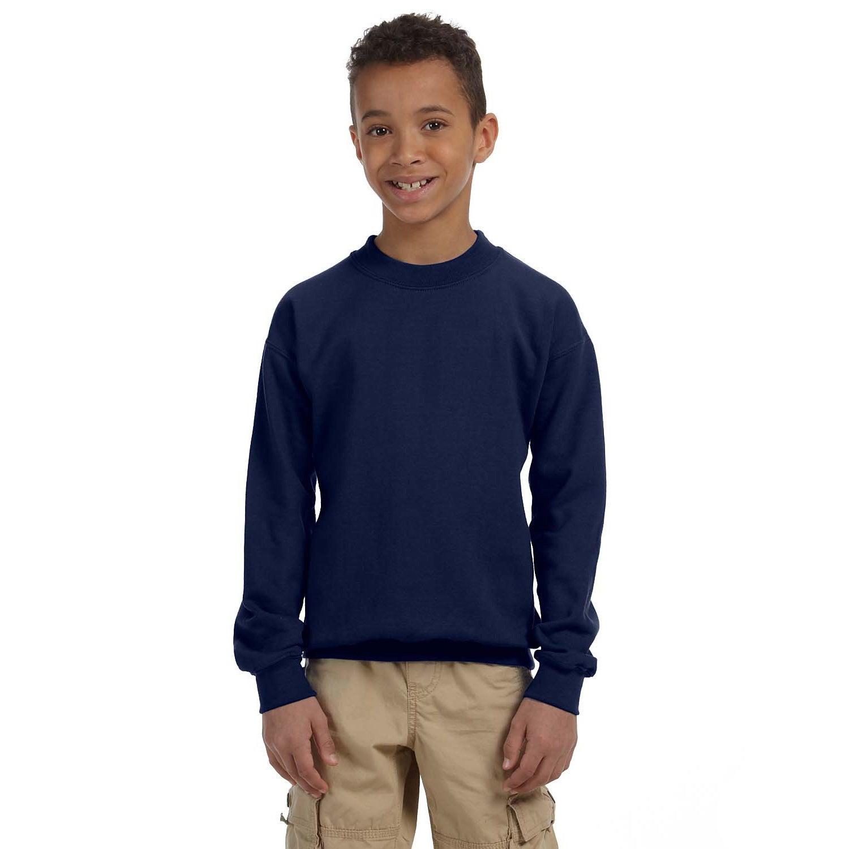 Gildan Youth Heavy Blend 50/50 Long Sleeve T shirt