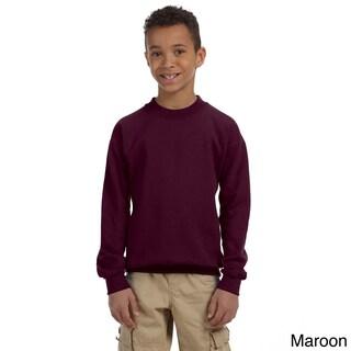 Gildan Youth Heavy Blend 50/50 Long Sleeve T-shirt