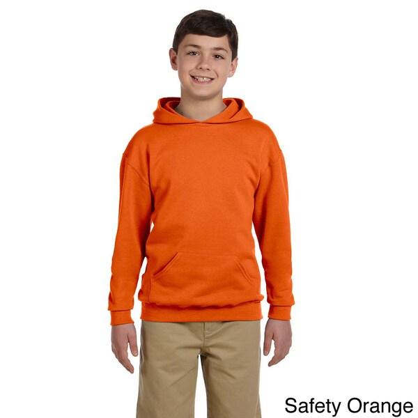 Youth 50/50 NuBlend Fleece Pullover Hoodie