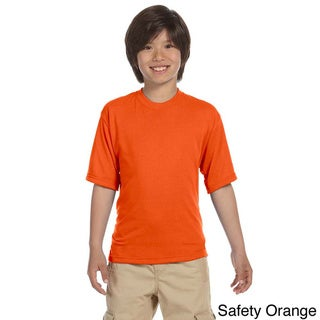 Youth Polyester Moisture-wicking Sport T-shirt