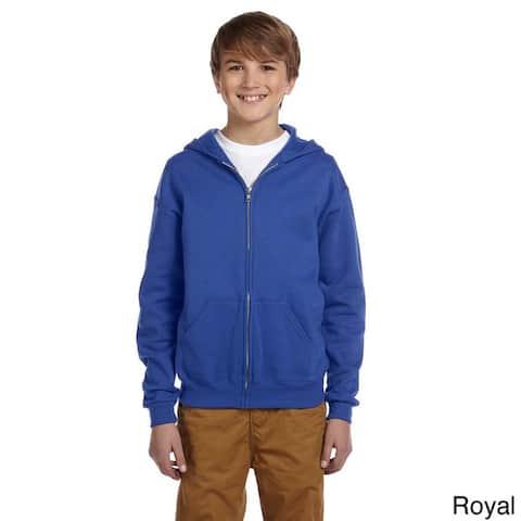 Youth 50/50 NuBlend Fleece Full-Zip Jacket