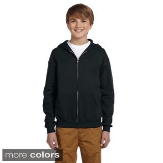 Youth 50/50 NuBlend Fleece Full-Zip Jacket