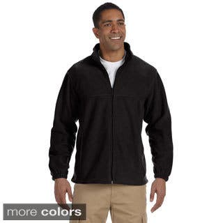 Men's Full-zip Fleece Jacket|https://ak1.ostkcdn.com/images/products/9108656/Mens-Full-zip-Fleece-Jacket-P16294903.jpg?impolicy=medium