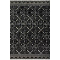 Grand Bazaar Carisle Area Rug in Gray - 10' x 13'2