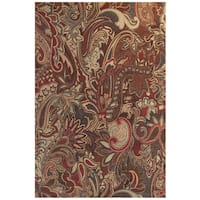 "Grand Bazaar Atwood Crimson/ Multi Area Rug (10' x 13'2"") - 10' x 13'2"