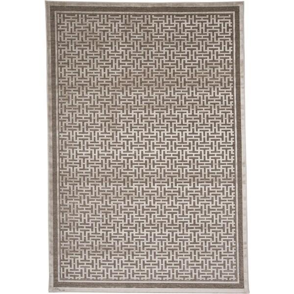 "Grand Bazaar Pellaro Rug in Pewter / Light Gray (5'3 x 7'6) - 5'-3"" x 7'-6"""
