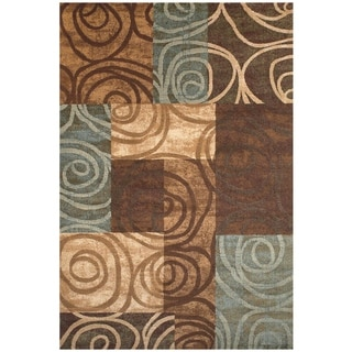 Grand Bazaar Atwood Area Rug in Chocolate (5' x 8')