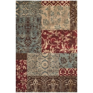 Grand Bazaar Power Loomed Polypropylene Atwood Rug in Multi 5' x 8'