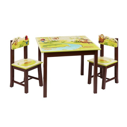 Jungle Party Table and Chairs Set