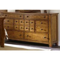 Gracewood Hollow Morrison Aged Oak 7-drawer Dresser