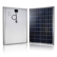 Renogy 100W Polycrystalline Solar Panel - Black