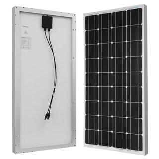 Renogy Solar Panel 100W Watt Monocrystalline 12V Off Grid RV Boat