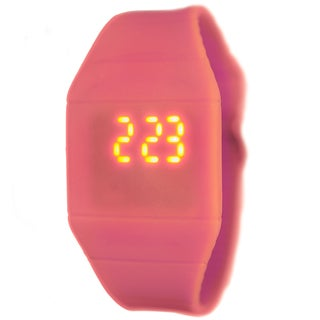 Kid's LED Pink Rubber Digital Watch