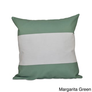 18 x 18-inch Bold Stripes Decorative Throw Pillow