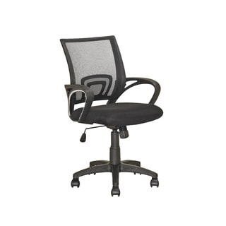 CorLiving LOF-309-O Office Chair in Black