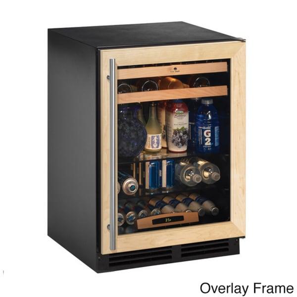 U-Line Stainless Steel Mini Refrigerator