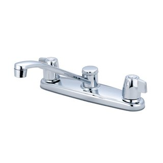 Olympia Series K-5130 Elite Two Mini Blade Handle Kitchen Faucet