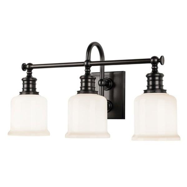 Shop Hudson Valley Keswick 3 Light Bath Bracket Free Shipping Today 9109193