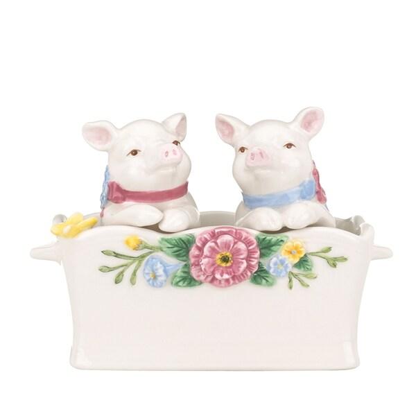 Pigs, Figurine and Bone china on Pinterest