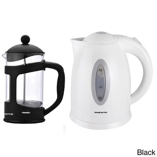 Ovente Cordless Electric Kettle with 34-ounce French Press Coffeemaker (5 options available)
