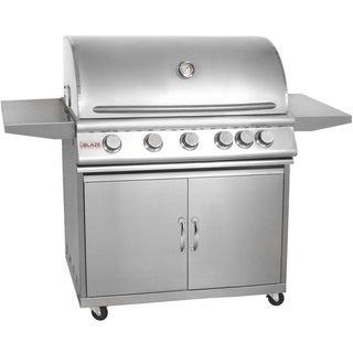 Blaze Stainless Steel 40-inch 5-burner Gas Grill with Cart (Natural Gas)