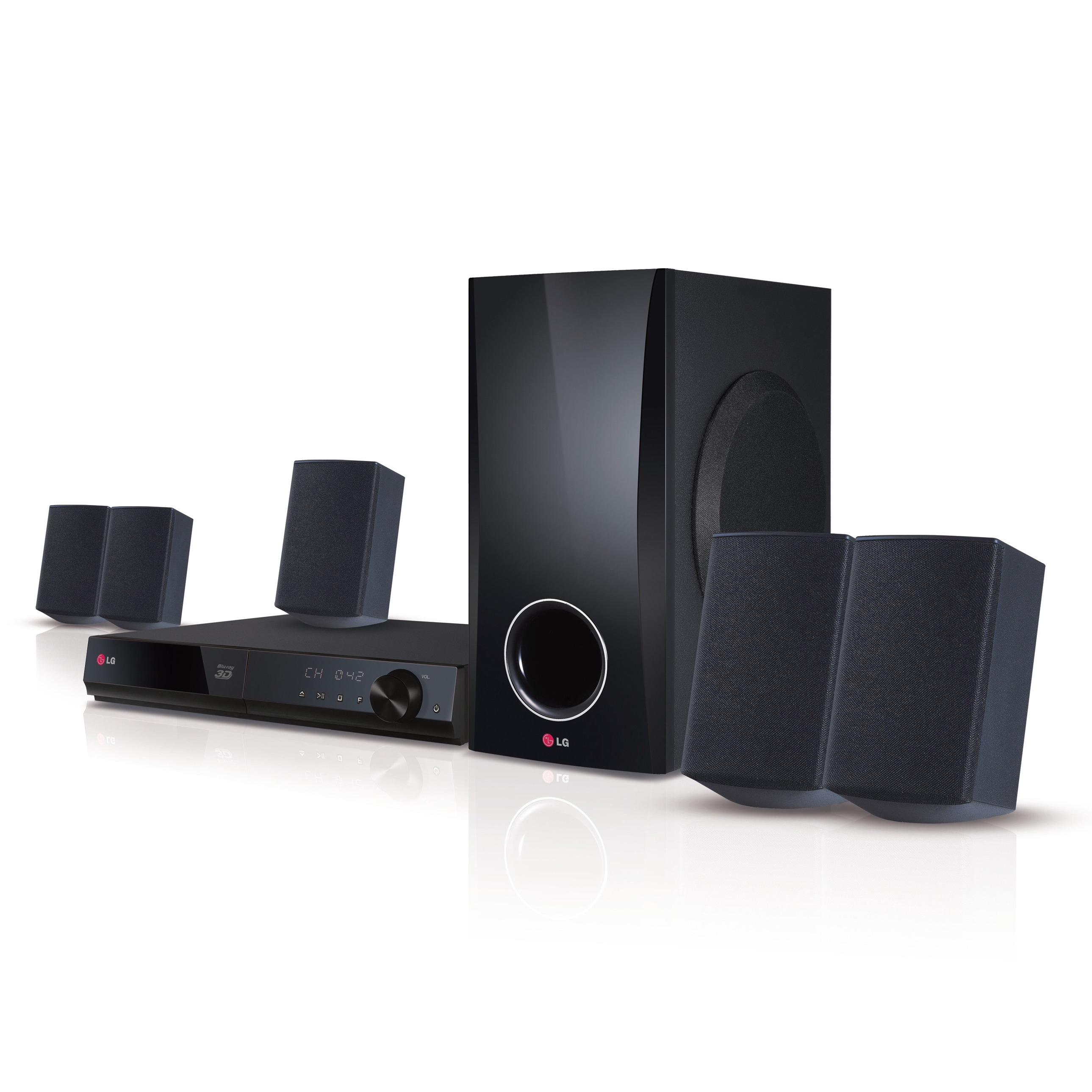 LG BH5140S 5.1-channel 3D Home Theater Smart TV System (B...