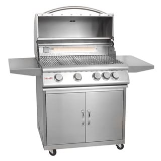 Blaze Stainless Steel 32-inch 4-burner Gas Grill with Cart