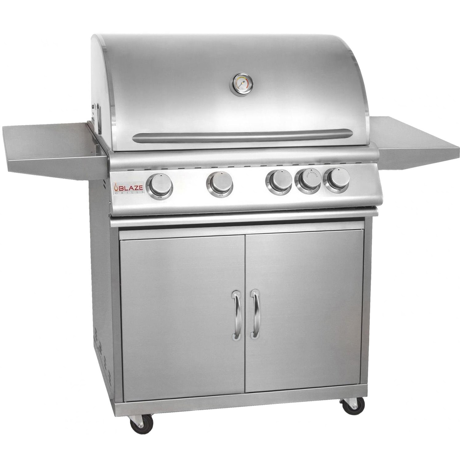Blaze 32-inch 4-burner Gas Grill with Cart (Stainless Ste...