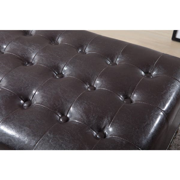 Brilliant Shop Royal Comfort Collection Luxury Dark Brown Tufted Onthecornerstone Fun Painted Chair Ideas Images Onthecornerstoneorg