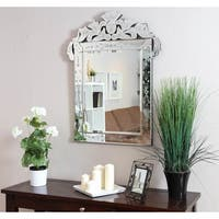 Somette Venetian Square Clear Mirror
