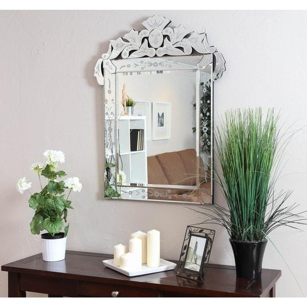 Somette Venetian Square Clear Mirror