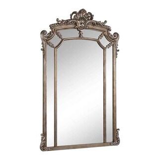 Somette Antique Silver Framed Mirror