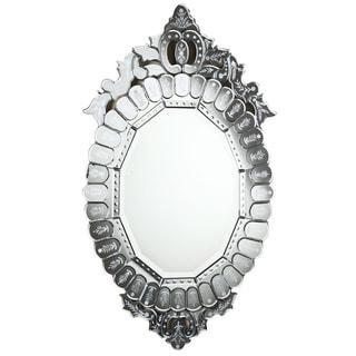 Somette Venetian Oval Clear Mirror
