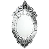 Somette Venetian Clear Oval Mirror