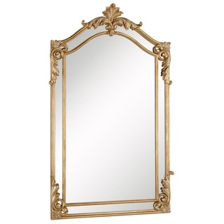 Gold mirrors shop the best deals for nov 2017 for Gold frame floor mirror