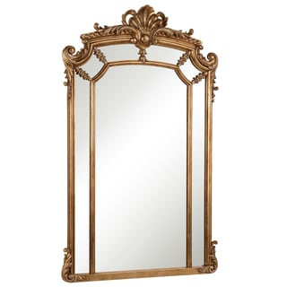 Somette Antique Goldtone Framed Mirror