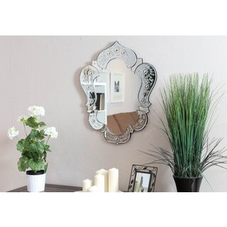 Somette Venetian Clear Design Mirror