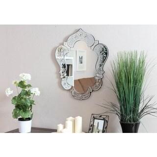 Somette Venetian Clear Design Mirror