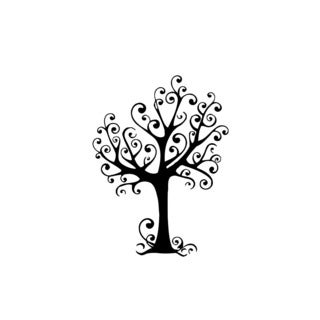 Funny Growing Tree Vinyl Wall Art
