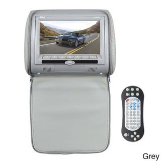 Pyle 7-inch Widescreen High-res Headrest DVD Player Video Monitor (Option: Grey)