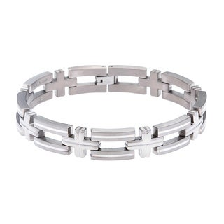 Titanium and Silver Bracelet