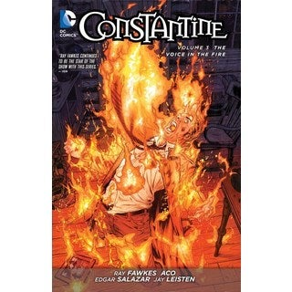 Constantine 3: The Voice in the Fire (The New 52!) (Paperback)