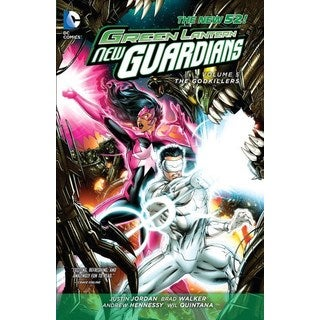 Green Lantern New Guardians 5: The Godkillers (Paperback)