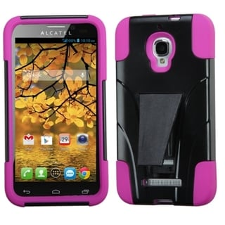 INSTEN Dual Layered Hybrid Phone Case Cover for Alcatel One Touch Fierce 7024W