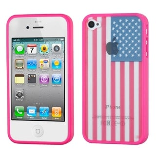 INSTEN Design Gel Stiff TPU Gummy Candy Skin Phone Case Cover for Apple iPhone 4/ 4s
