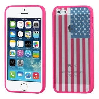 INSTEN Design Gel Stiff TPU Gummy Candy Skin Phone Case Cover for Apple iPhone 5/ 5s/ SE