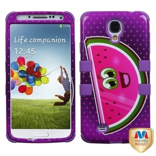 INSTEN High Impact Dual Layer Hybrid Phone Case Cover for Samsung Galaxy S4/ S IV