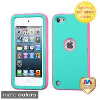 Insten Verge Hard PC/ Silicone Dual Layer Hybrid Rubberized Matte Case Cover For Apple iPod Touch 5th/ 6th Gen