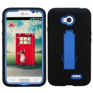 INSTEN High Impact Dual Layer Hybrid Phone Case Cover for LG Optimus L70 MS323, Exceed 2 VS450PP Verizon