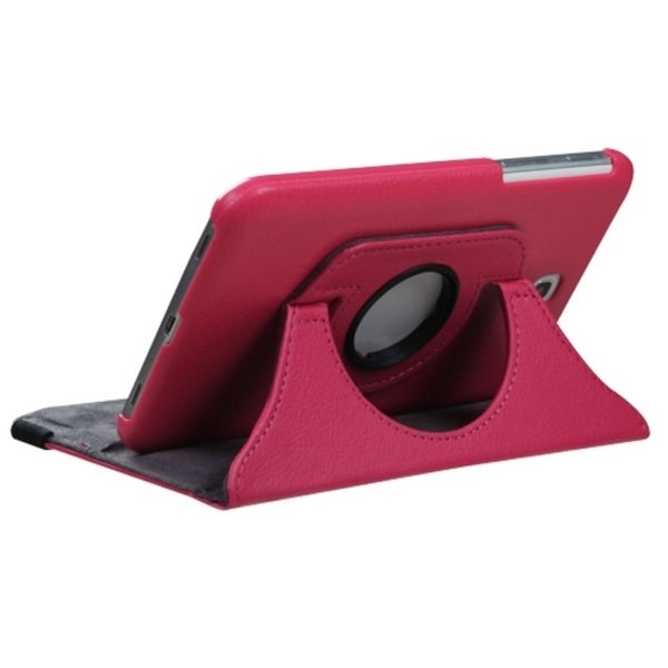 INSTEN Rotatable Swivel Stand Leather Tablet Case Cover for Samsung Galaxy Tab 3 7.0